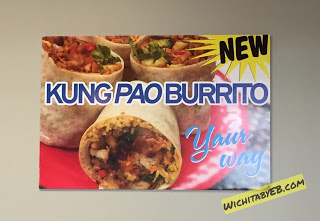China Go XP Kung Pao Burrito