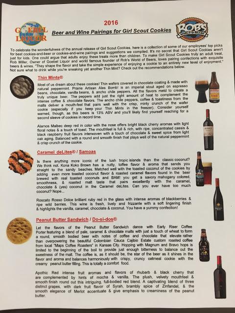 Beer and Wine Pairings