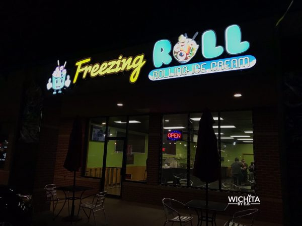 Freezing Roll Rolling Ice Cream