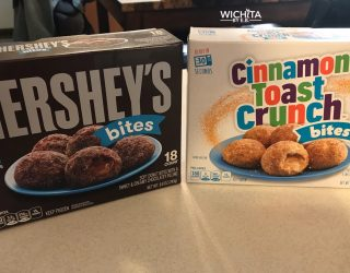 Hershey and Cinnamon Toast Crunch Bites