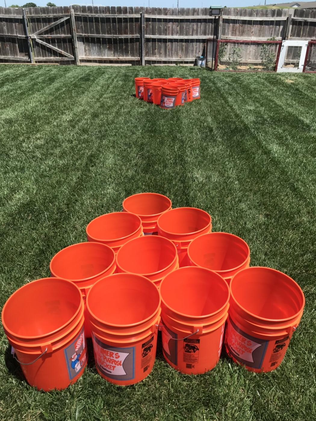 Bucket Ball DIY: The perfect yard game – Wichita By E.B.