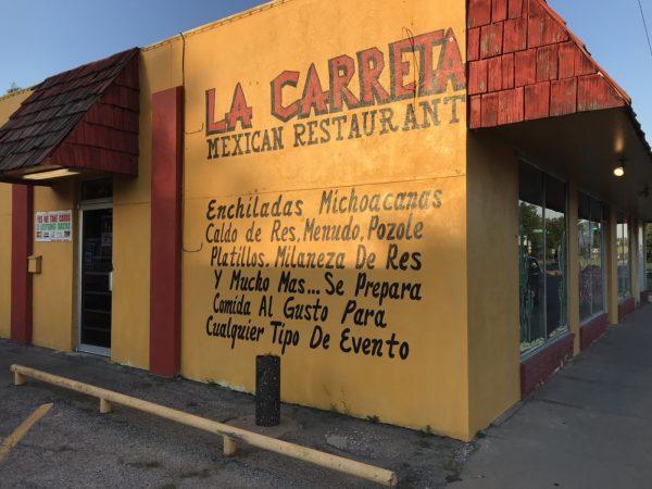 La Carreta Mexican Restaurant Revisited Wichita By E B