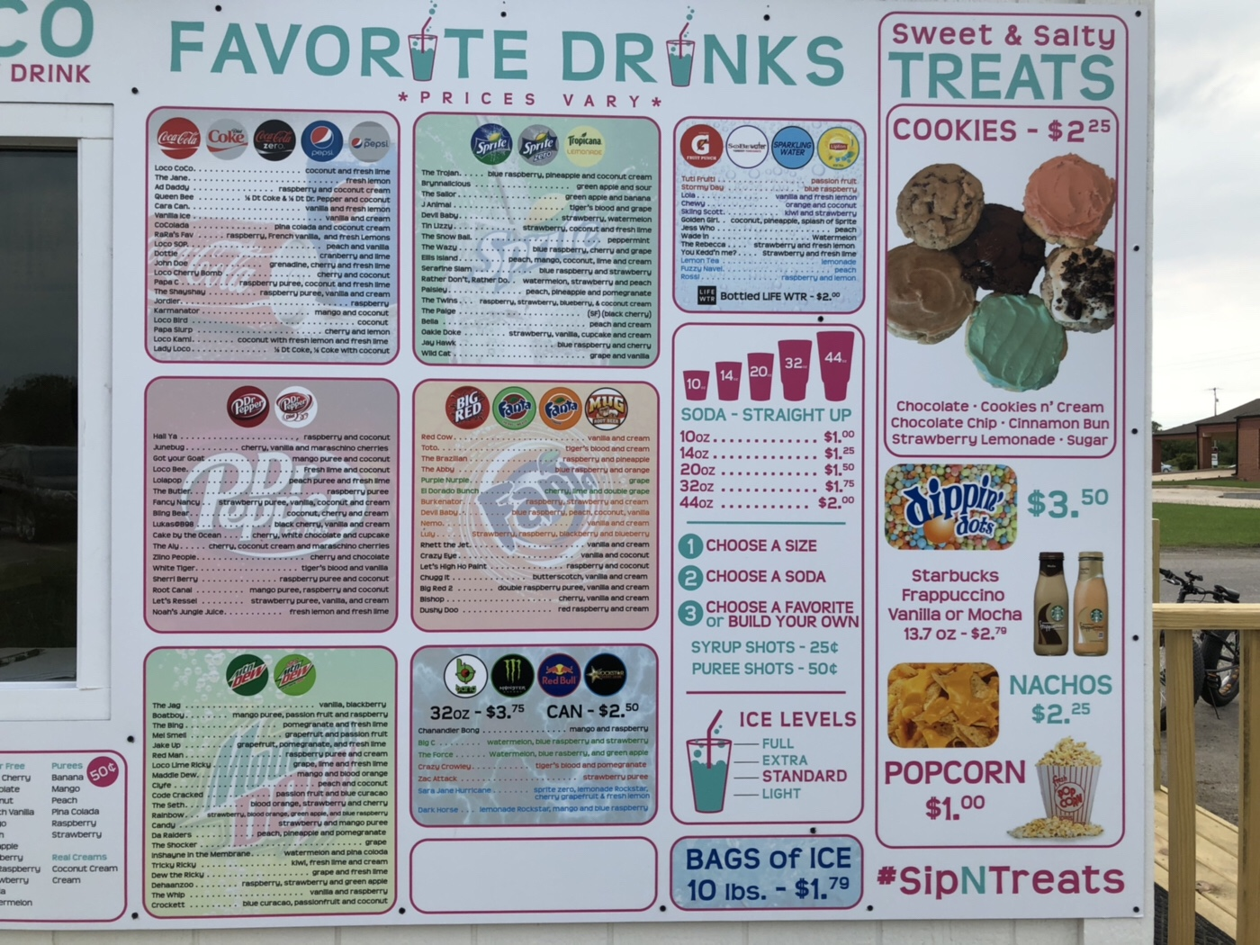 Sip 'N' Treats