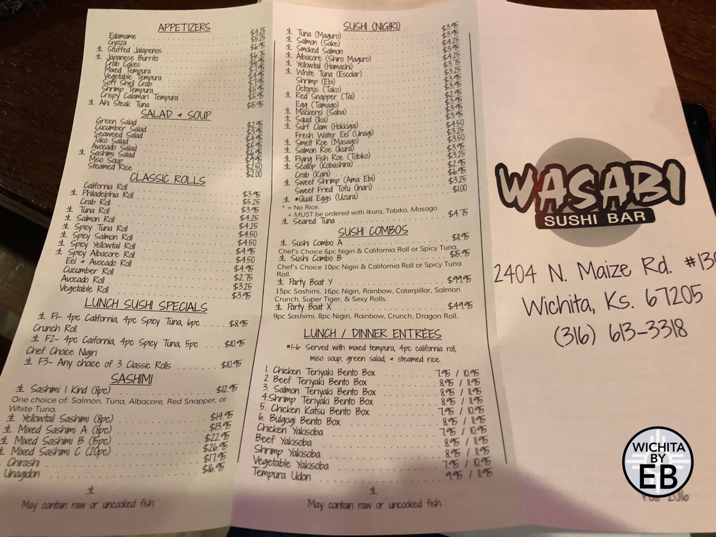 Wasabi Sushi Bar West