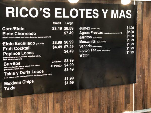 Rico's Elotes Y Mas