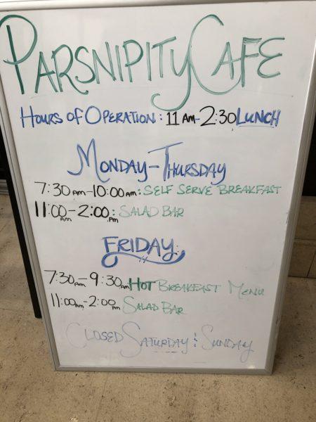 Parsnipity Cafe