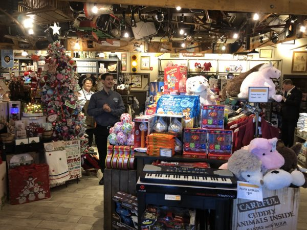 the layout is much different than what youll find in park city cracker barrel has a new open layout