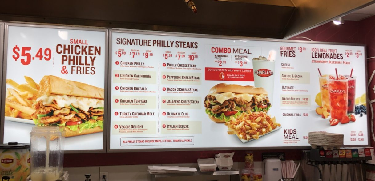 Charley's Philly Steaks