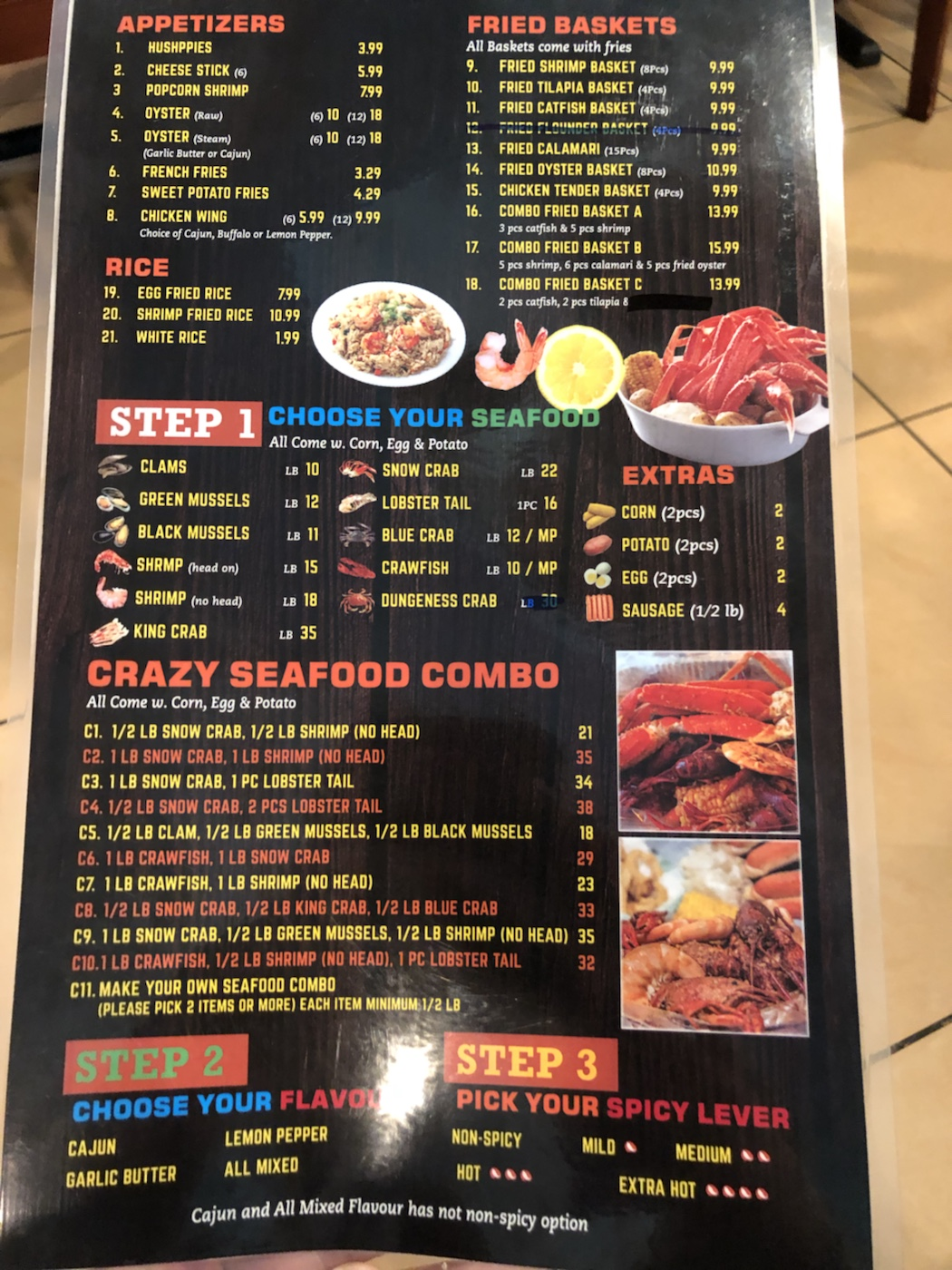 Crazy Crab Seafood