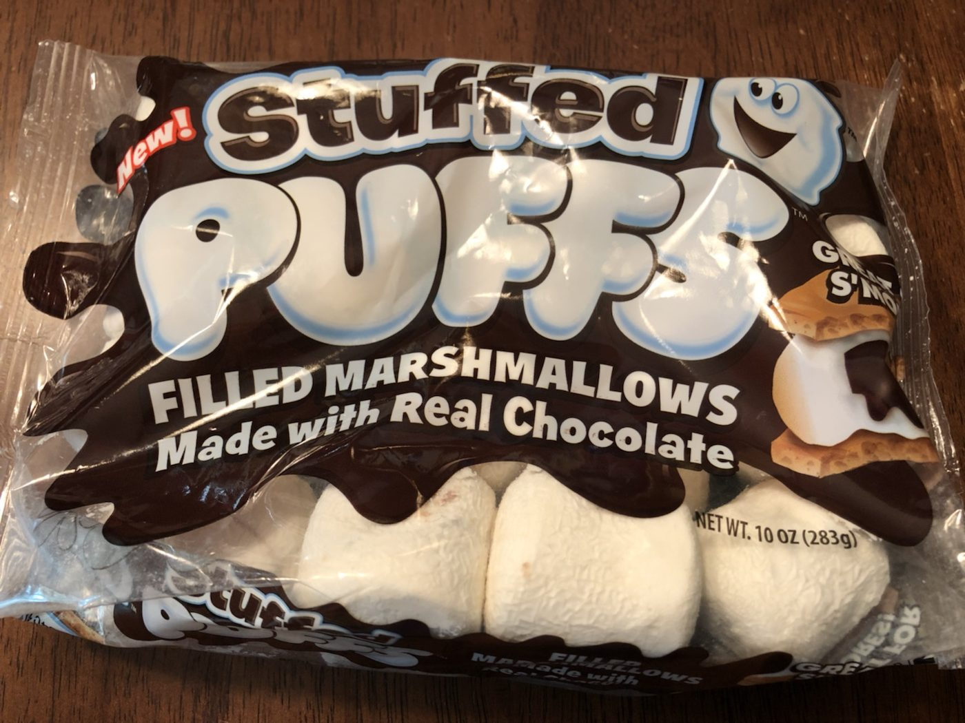 Stuffed Puffs Chocolate-Filled Marshmallows Make S'Mores Much ...
