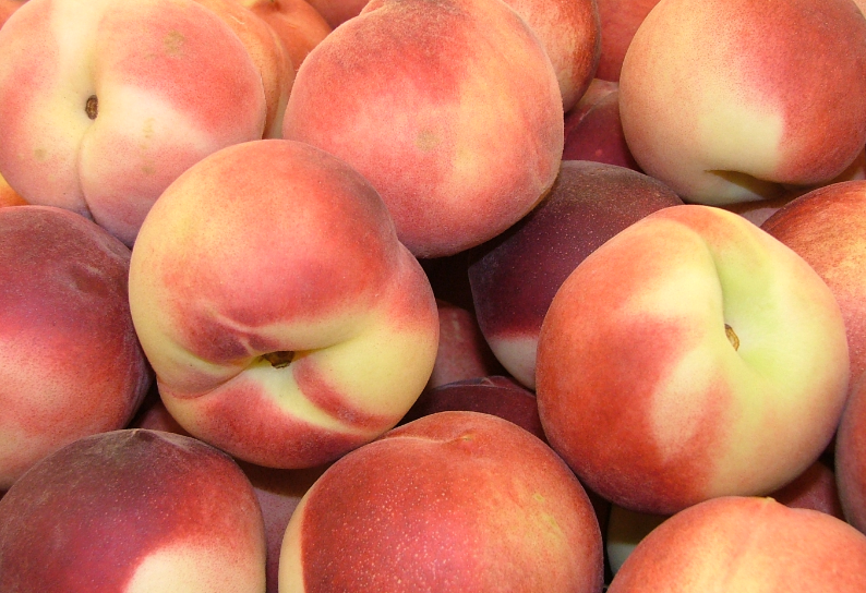 peaches at Peachfest