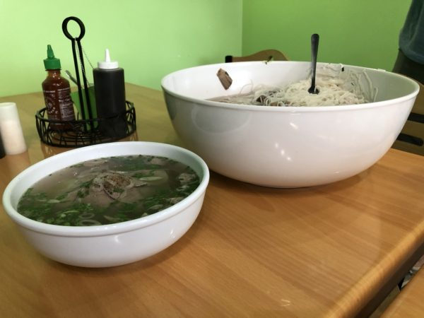 Attempting the Go Pho Yourself food challenge with over