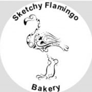 Sketchy Flamingo Bakery